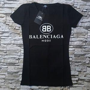 Tshirt black BB mode balenciaga